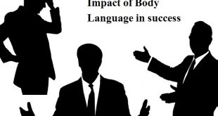 Impact of body language in success
