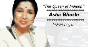Asha Bhosle Information in Marathi