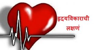 Heart Attack Symptoms in Marathi