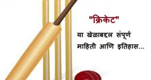 Cricket Information in Marathi