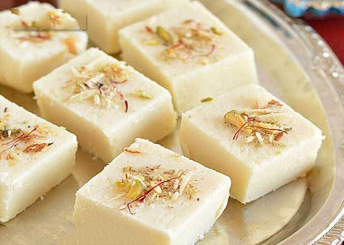 Mawa Barfi Recipe in Marathi