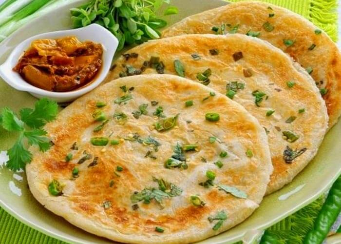Paneer Paratha Recipe in Marathi
