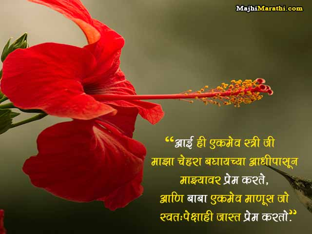 Quotes on Aai Baba