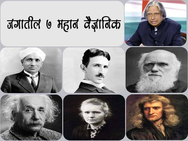 Famous Scientists in the World