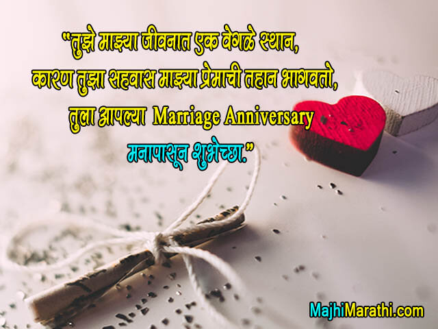 Marriage Anniversary Quotes in Marathi